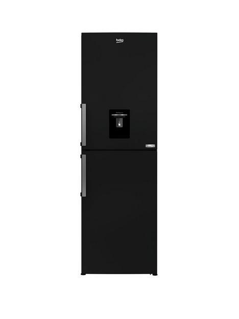 beko-cfp3691dvb-harvestfresh-fridge-freezer-with-water-dispenser-black