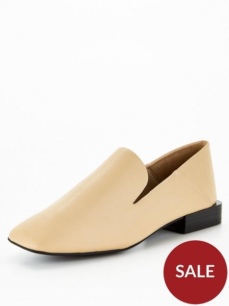 call-it-spring-vegan-lolah-smooth-loafers-yellow
