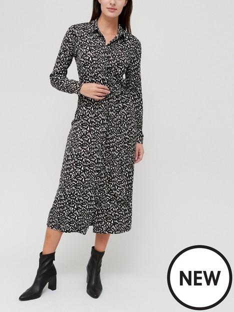 v-by-very-button-up-midi-shirt-dress-mononbsp