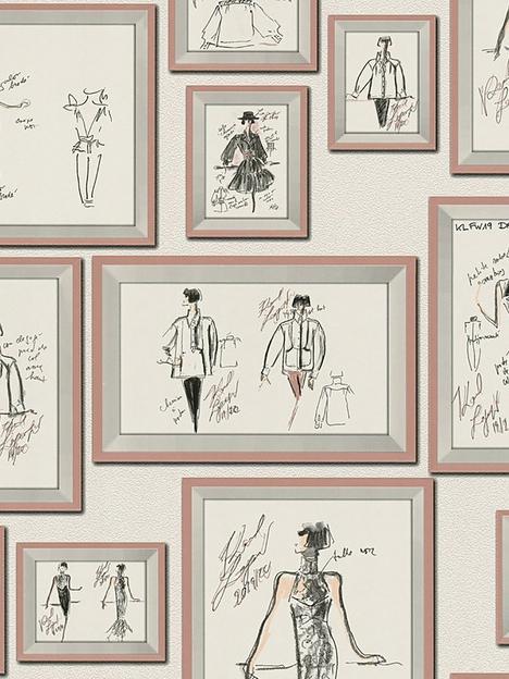 karl-lagerfeld-karl-lagerfeld-sketch-motif-wallpaper