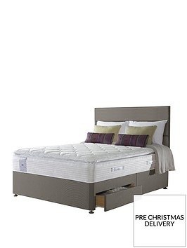 sealy-activ-react-geltex-2200-pocket-pillow-top-divan-bed-with-storage-options--nbspmedium
