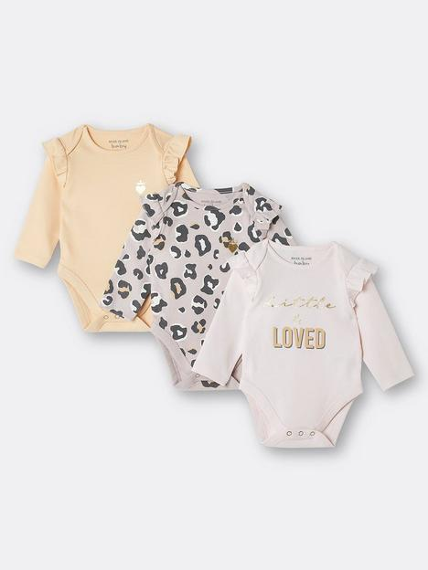 river-island-baby-baby-girls-3-pack-frill-loved-bodysuit-multi