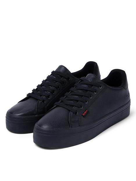 kickers-tovni-stack-leather-trainer-black