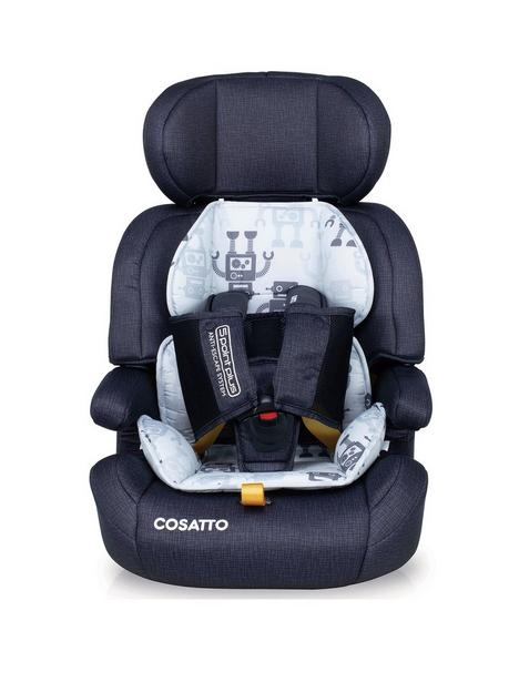 cosatto-zoomi-group-123-car-seat-silver-robots