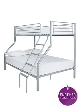 Kidspace Domino Trio Bunk Bed With Optional Mattress Littlewoods Com