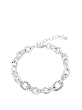 mood-silver-chunky-chain-bracelet
