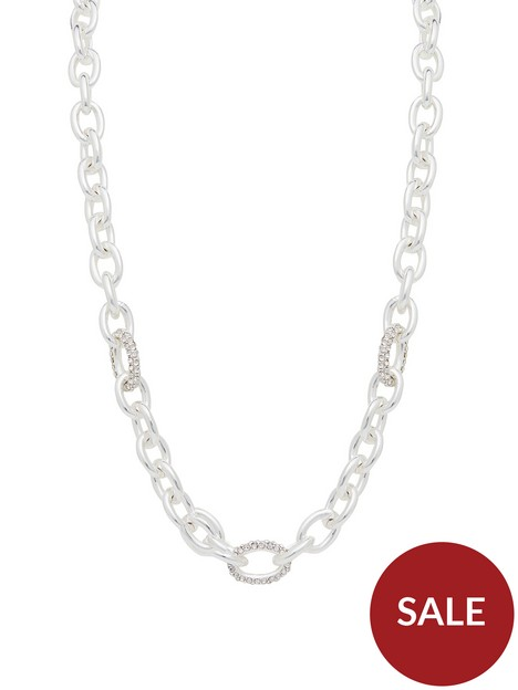 mood-silver-chunky-chain-necklace
