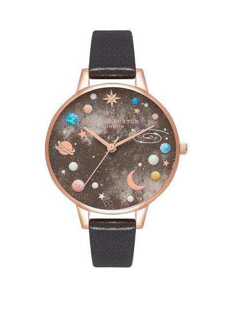 olivia-burton-space-black-leather-watch
