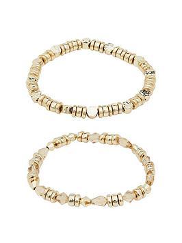 mood-gold-plated-silver-2pk-bracelets