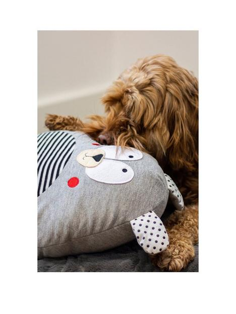 rosewood-giggling-stripey-bear-maxi-dog-toy