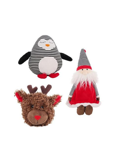 rosewood-christmas-characters-3-pack-squeakernbspdog-toy-bundle
