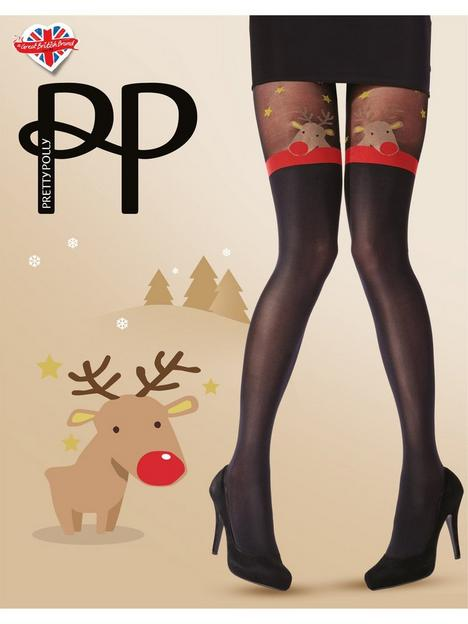 pretty-polly-reindeer-hold-up-tights-blacknbsp