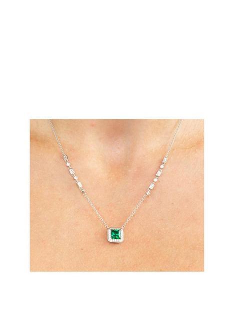 diamonfire-emerald-coloured-stone-set-necklace