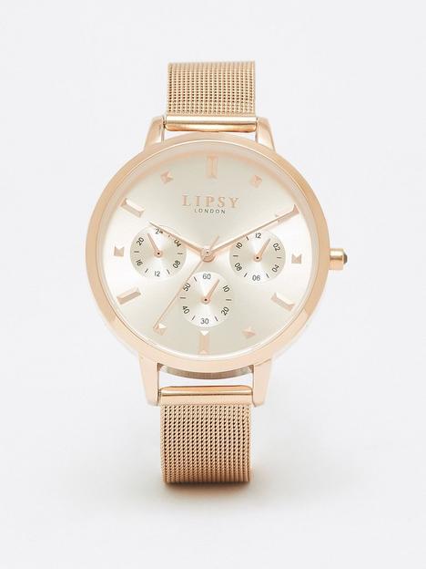 lipsy-rose-gold-strap-watch-with-bracelet-gift-set