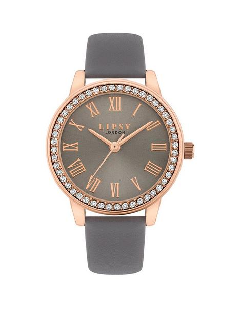 lipsy-grey-strap-watch-and-bracelet-gift-set