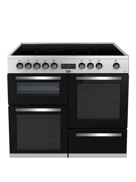 beko-freestanding-100cm-double-oven-range-cooker-stainless-dteel-kdvc100x