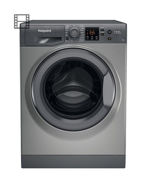 hotpoint-nswm743uwukn-7kg-load-1400-spin-washing-machine-graphite