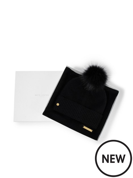 katie-loxton-soft-knit-boxed-hat-and-scarf-set-black