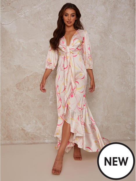 chi-chi-london-chi-chi-london-graphic-print-plunge-satin-maxi-dress