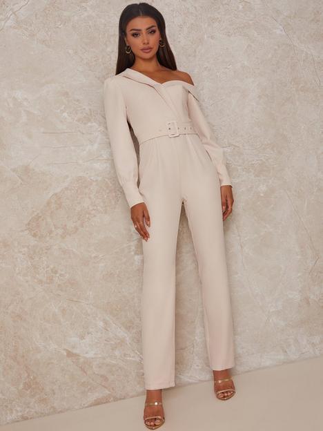 chi-chi-london-off-shoulder-tailored-jumpsuit-cream