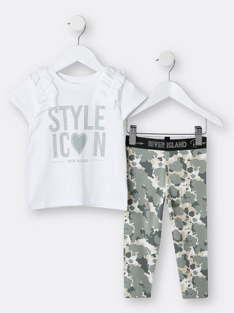 river-island-mini-mini-girls-style-icon-tshirt-and-legging-set-khaki
