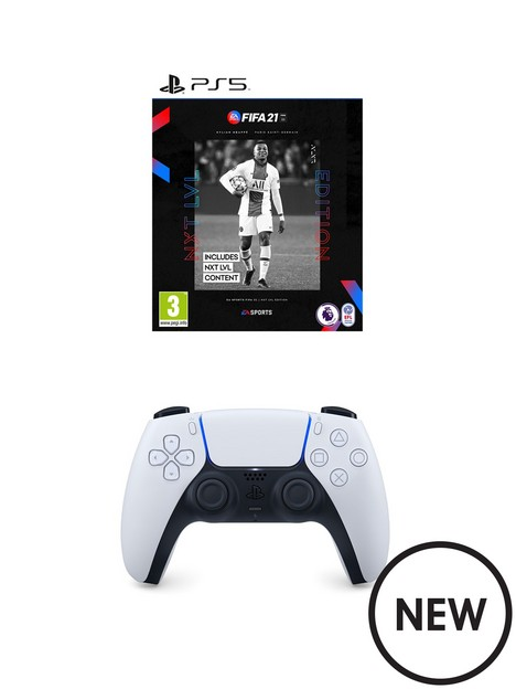 playstation-5-white-dualsense-wireless-controller-amp-fifa-21-ps5