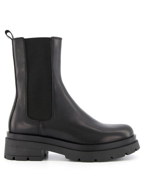 dune-london-palmz-heavy-outsole-chelsea-boots-black