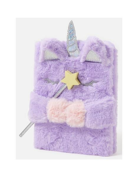 accessorize-unicorn-fluffy-notebook-with-pencil
