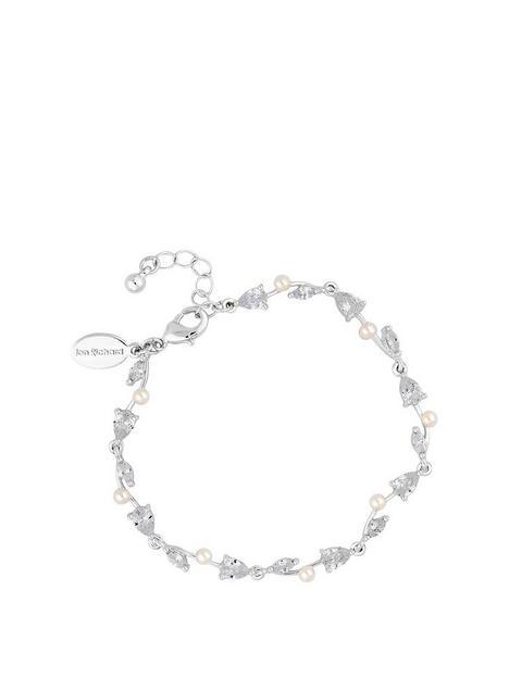 jon-richard-bridal-crystal-silver-drop-bracelet