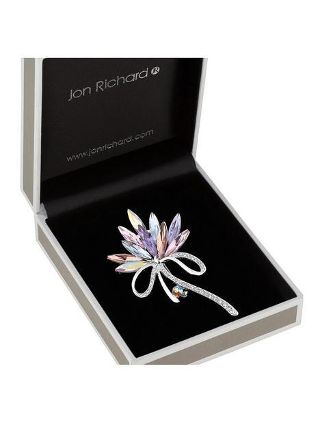 jon-richard-pink-tones-navette-and-crystal-pave-ribbon-brooch