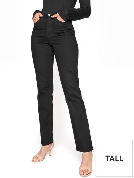 long-tall-sally-straight-leg-36nbsphigh-rise-jeans-black