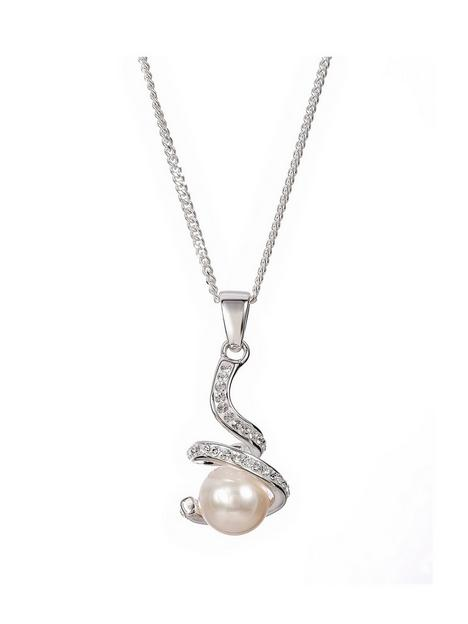 love-pearl-sterling-silver-freshwater-pearl-crystal-pendant-necklace-18-inches