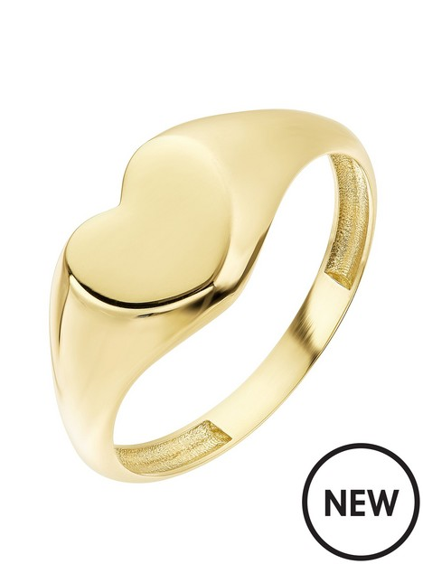 love-gold-9ct-yellow-gold-heart-signet-ring