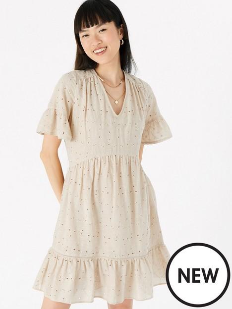 accessorize-schiffly-mini-dress-beige