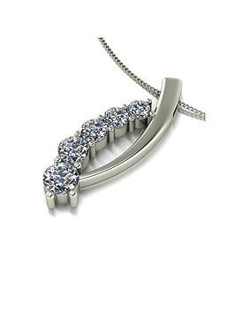 moissanite-moissanite-9ct-white-gold-100ct-total-5-stone-pendant-chain