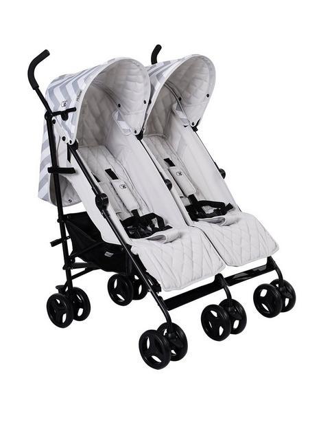 my-babiie-billie-faiers-grey-chevron-twin-stroller