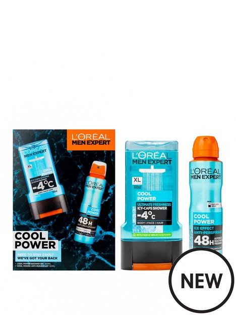 loreal-paris-loreal-men-expert-cool-power-shower-gel-deodorant-gift-set-for-him