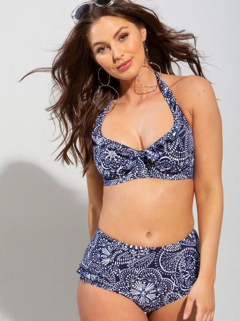 pour-moi-hot-spots-high-waisted-control-brief-navy