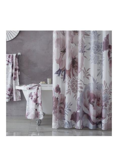 catherine-lansfield-dramatic-floral-shower-curtain