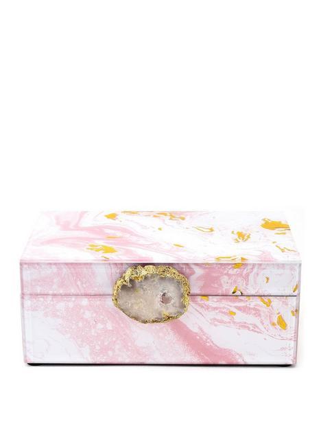 hestia-pink-marbled-glass-jewellery-box