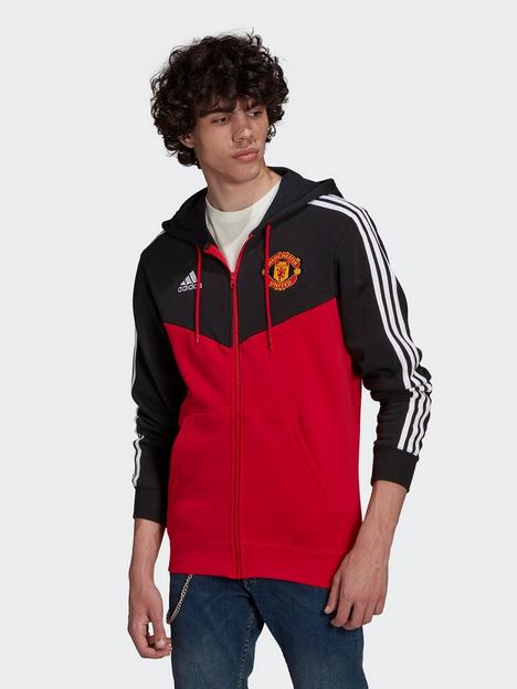 adidas-manchester-united-3-stripes-full-zip-hoodie