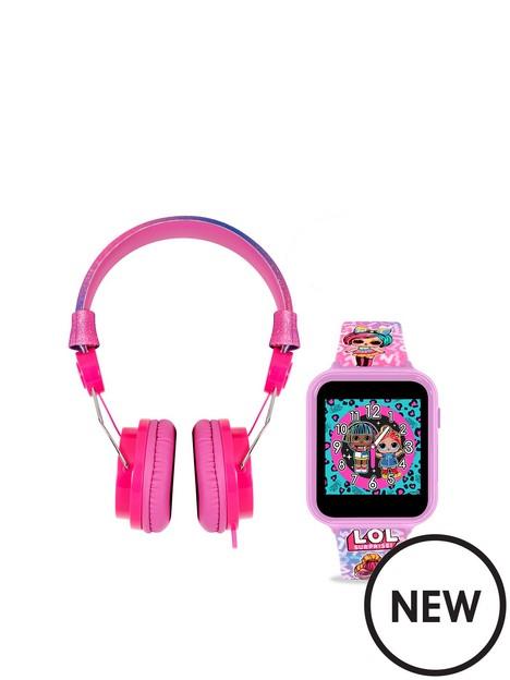 disney-disney-lol-smart-watch-headphone-set-kids-girls