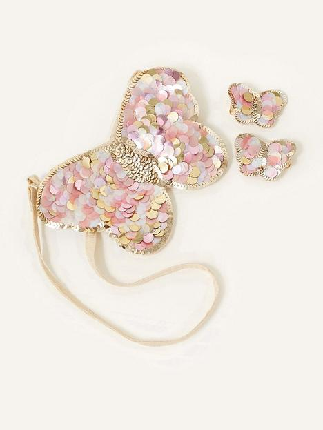 monsoon-girls-sequin-shine-butterfly-bag-clip-set-pink
