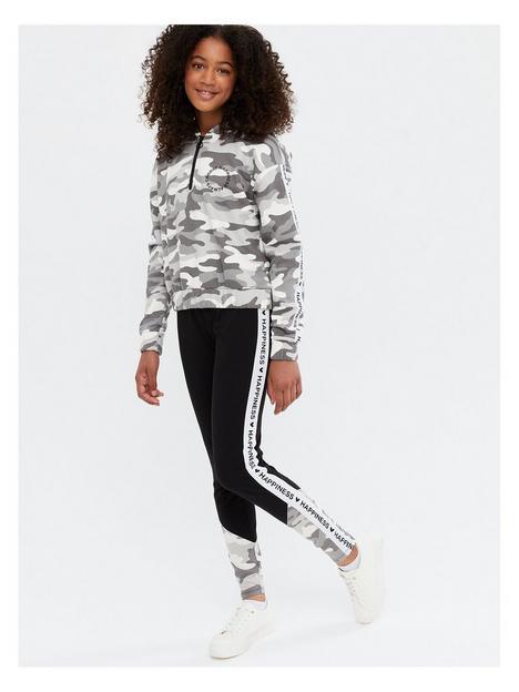 new-look-915-girlsnbspcamo-tape-logo-leggings-light-green