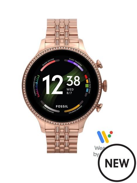 fossil-gen-6-ladies-smartwatch-stainless-steel