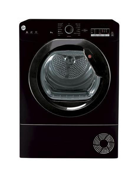 hoover-h-dry-100-hlec8lgb-80-8kg-condenser-tumble-dryer-black