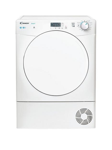 candy-smart-csec9lf-80-9kg-condenser-tumble-dryernbspwith-smart-connectivity-white