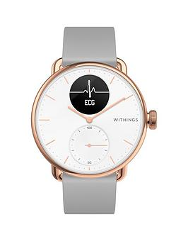 withings-withings-hybrid-smartwatch-with-ecg-heart-rate-oximeter-rose-gold
