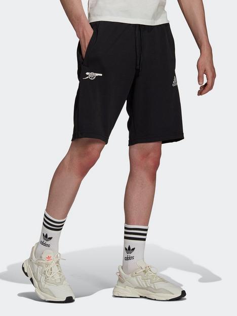 adidas-arsenal-travel-shorts