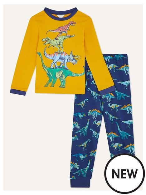 monsoon-boys-dino-pyjamas-navy